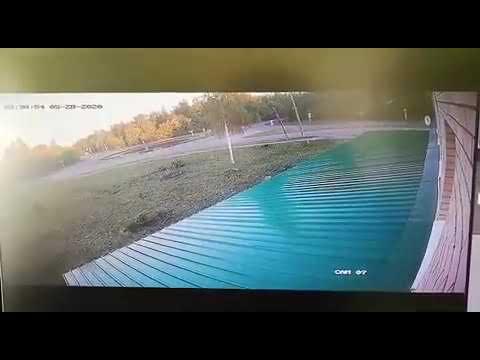 Момент смертельного ДТП: Hyundai влетает в здание. Чебоксары