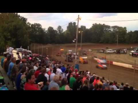 Pops Team 3 Double X Speedway Aug 3, 2014