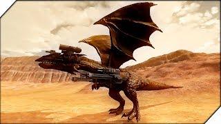 ГИГАНТСКИЙ ДРАКОН МЕХ - Игра Beast Battle Simulator. Битва динозавров