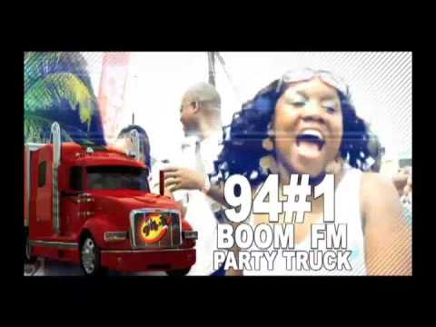 94#1 boom fm party truck