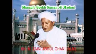 Pembacaan Manaqib Syekh Saman Al Madani