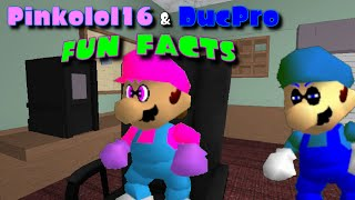 [Splatoon SM64 ROBLOX] Pinkolol16 and DucPro Fun Facts