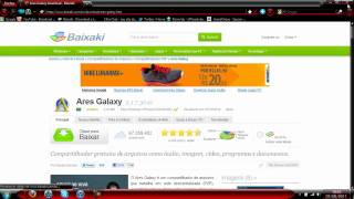 Como baixar e utilizar o ares galaxy download