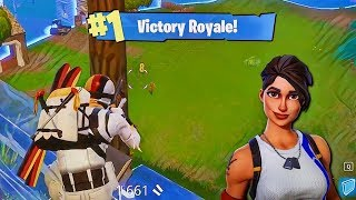 ACTION PACKED GAME!! (FORTNITE BATTLE ROYALE)