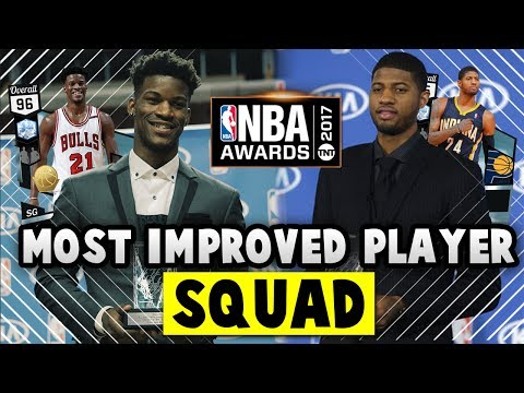 NBA 2K17 MyTEAM MOST IMPROVED PLAYERS SQUAD!! | NBA 2K17 MyTEAM AWARDS SQUAD BUILDER