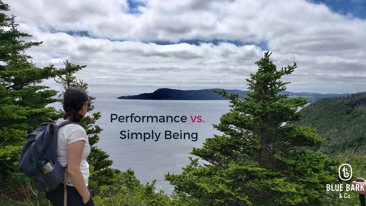 Are you a performer in your life? | How to hang up that costume and start Being