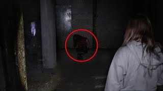 (WE SAVED HER) THE SLENDERMAN GAME IN REAL LIFE 2!! (EXPLORING AN ABANDONED FACTORY)