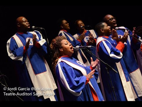 Christmas with The Mississippi Mass Choir- Sant Cugat, Spain