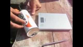 Заправка туристических газовых баллончиков.(Заправить одноразовый газовый баллончик не сложнее, чем зажигалку., 2012-07-02T18:58:32.000Z)
