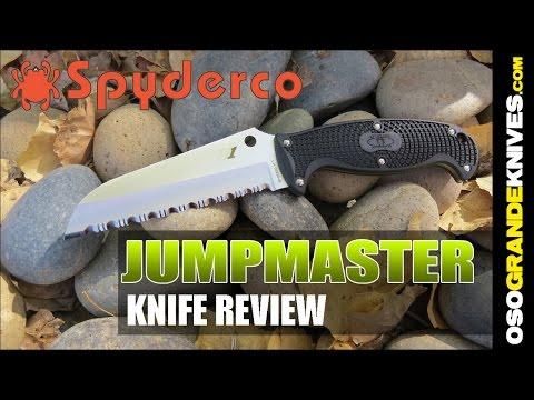 Spyderco Jumpmaster FB24SBK Fixed Blade Knife Review   OsoGrandeKnives