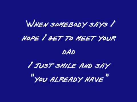 A Song For Dad - Keith Urban (Lyrics)