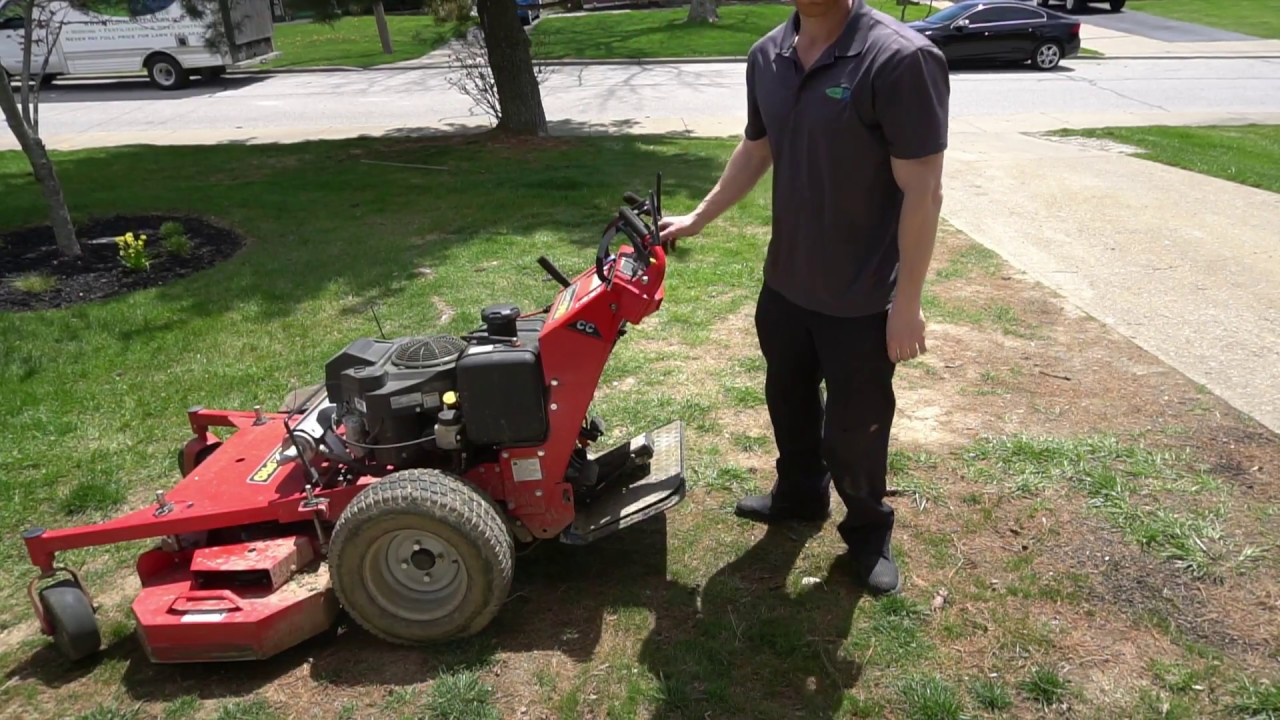 Proslide XT | How to use this lawn mower sulky