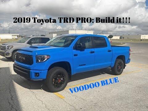 2019 Toyota Tundra TRD PRO: Build IT!