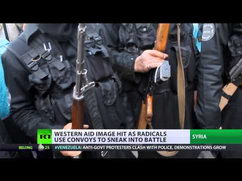 Trojan Horses: Aid convoys help young Islamist fighters go to Syrian warzone