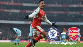 Chelsea vs Arsenal 0-0 - Extended Match Highlights - Carabao Cup 10/01/2018 HD