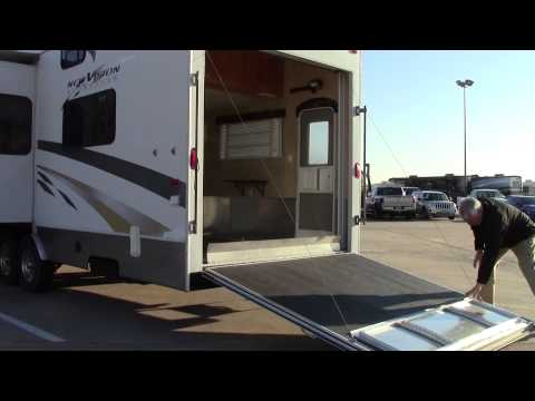 Preowned 2006 KZ New Vision Sportster 37K Fifth Wheel Toy Hauler - Holiday World Of Houston In Katy