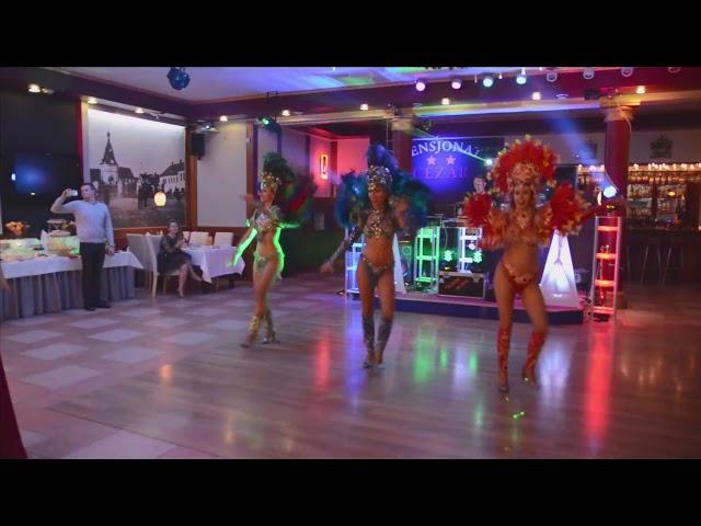 Pokaz samby Sylwester 2019 - tancerki samby 100% Samba Show