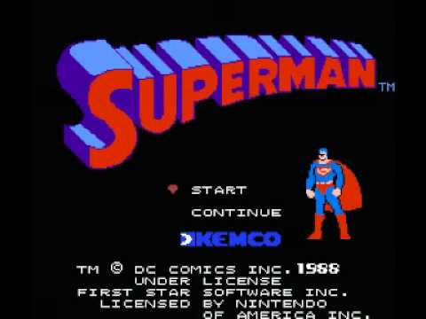 Superman (NES) Music - Title and Menu Theme