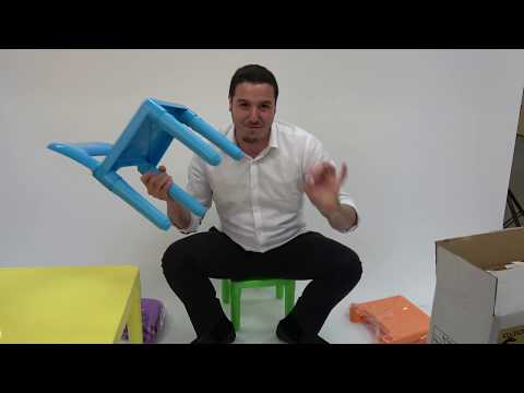 How to Build Kids Table & Chair Set - Live Review Presentation by Tv Host Bill Confidence