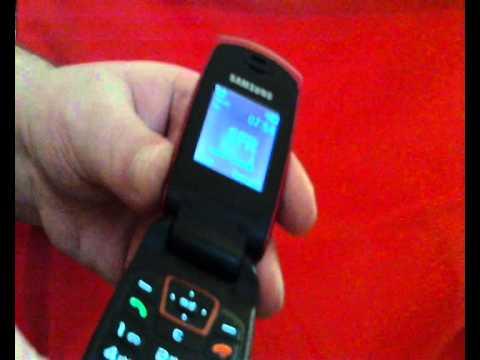 SAMSUNG SGH C270.wmv