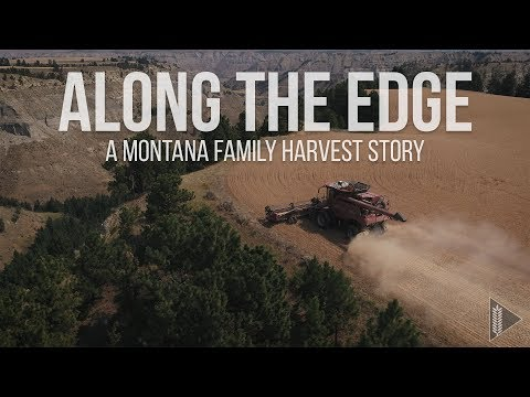 Along The Edge   A Montana Family Harvest Story