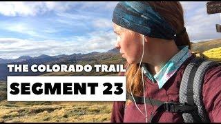 The Colorado Trail: Segment 23 - Carson Saddle to Stony Pass (mile 375 - 390.9)