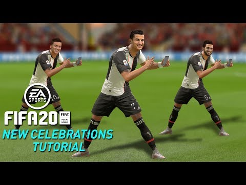 FIFA 20 ALL NEW CELEBRATIONS TUTORIAL   PS4 And Xbox