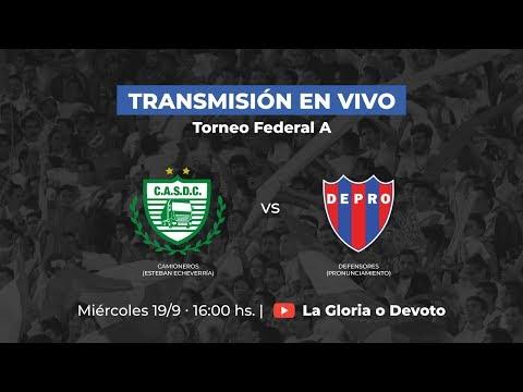 Torneo Federal A | CAMIONEROS VS DEFENSORES de Pronunciamiento | Fecha  3