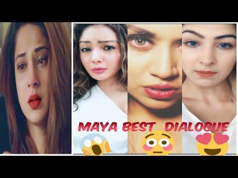 Maya Top 10 Dialogues - Beyhadh-jennifer winget maya dialogues musically||The Best Musical. ly