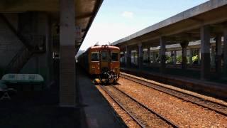 [HD] The Taiwan TRA down T.C. Ltd Exp DMU Train DR3000 train no. 1051 depart Taitung Station