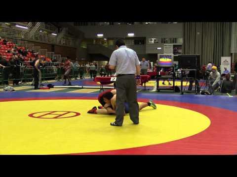 2014 Junior National Championships: 84 kg Conor McIntyre vs. Trent Billette