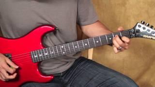 Van Halen Style Guitar Lesson - Ain
