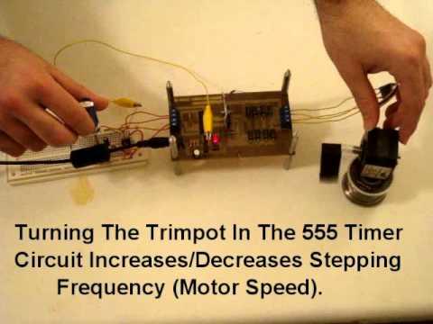 DIY Stepper Motor Controller Board
