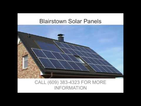 Solar Panels in Blairstown NJ   (609) 383-4323
