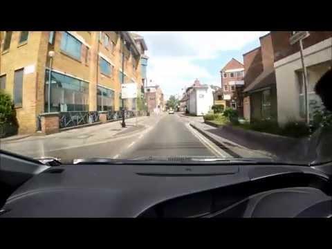 Maidenhead - town centre drive