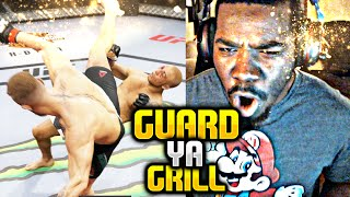 GUARD YA GRILL YUNG DISHRAG !!! UFC 2 Gameplay EA Sports UFC 2(, 2016-03-16T06:10:08.000Z)