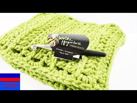 Вязание крючком шарф видеоурок крючком
