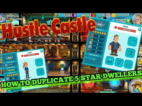 HOW TO DUPLICATE 5 STAR DWELLERS (Hustle Castle)