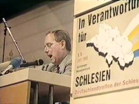 In Verantwortung für Schlesien - Rede von Wolfgang Schäuble