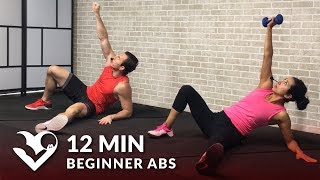 Video 12 Min Beginner Ab Workout for Women & Men - Easy Abs Workout for Beginners at Home download MP3, 3GP, MP4, WEBM, AVI, FLV September 2017