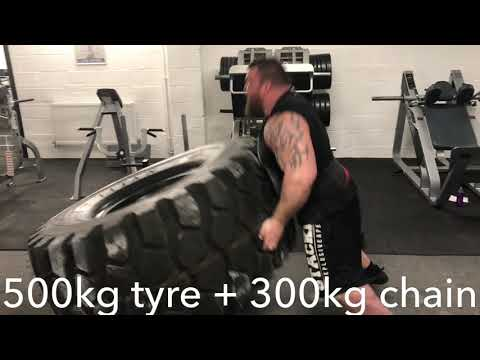 Eddie Hall - Best Training lifts