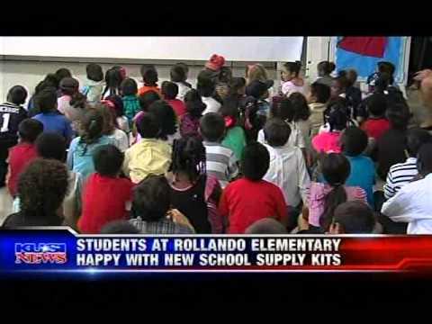 K to College Rolando Park Elementary School Distribution