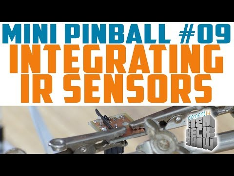 Mini Pinball 09: Infrared Ball Detection
