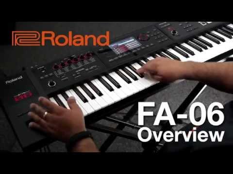 Roland FA 06 Synthesizer | 61 Key Music Workstation