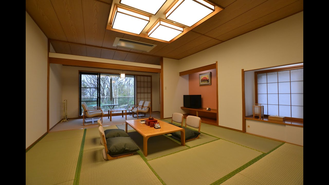 "Ryokan Style 12.5 ""Tatami"" Room With Private View Bath Tub"