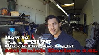 How to Fix a P2176 Check Engine Light on a 2011 Buick Enclave