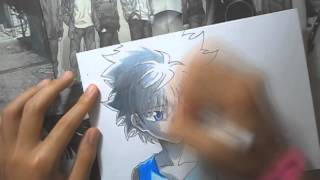 Drawing- Killua Zoldyck from HunterxHunter
