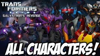Transformers Prime: Galvatron's Revenge FAN MOVIE - ALL CHARACTERS (FULL BIOS)