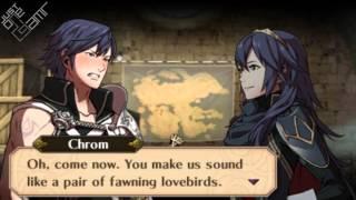 Fire Emblem Awakening - Chrom & Lucina Support Conversations