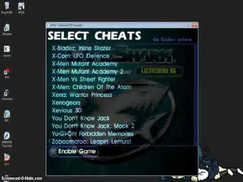 How to use gameshark on Yugioh Forbidden Memories